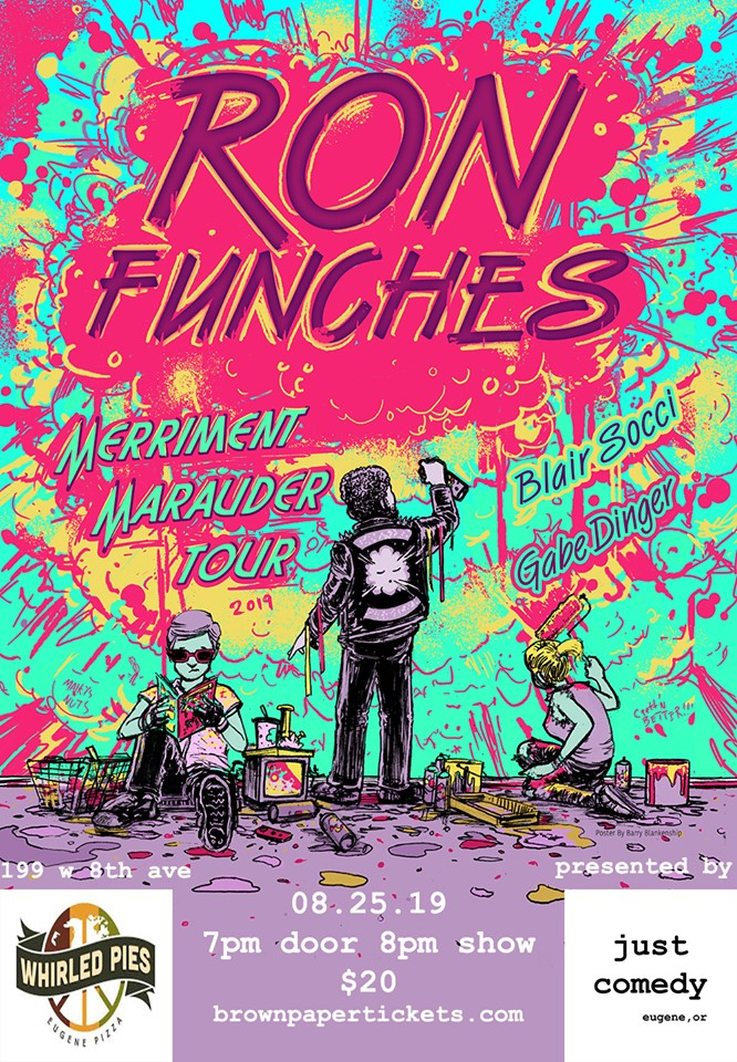 Ron Funches Eugene 1